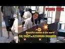 Gal Gadot vs Alexandra Daddario funny ways to play piano   Beatiful women in the world
