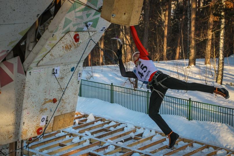Квалификационная трасса у мужчин, прыжок в исполнении Ивана Лощенко, Томск