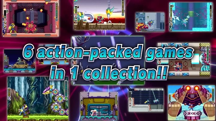 Mega Man Zero ZX Legacy Collection Трейлер