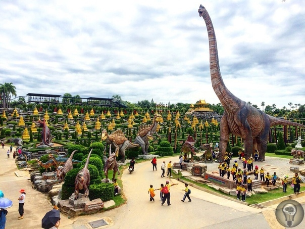 Тропический парк Нонг Нуч, Таиланд.