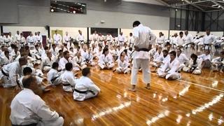 JKA HQ Instructor Okuma Koichiro Shihan at All JKA National Seminar