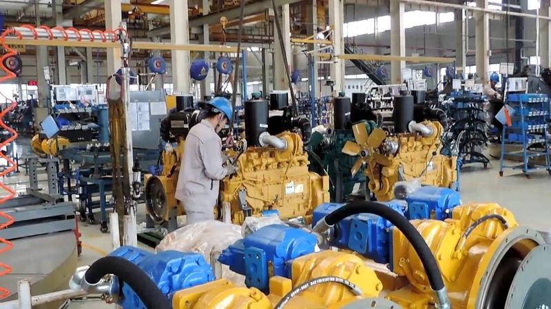 Завод ✨SDLG Китай 👓 Осмотр цехов