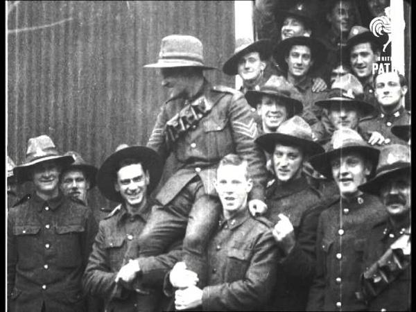 For Bravery At Gallipoli Vc For Corporal Bassett 1915