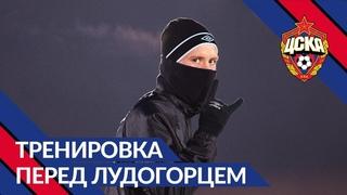 Готовимся к заключительному домашнему матчу ЛЕ. Акинфеев и юный болельщик