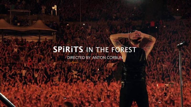 Depeche Mode - SPIRITS In The Forest (60 second trailer)
