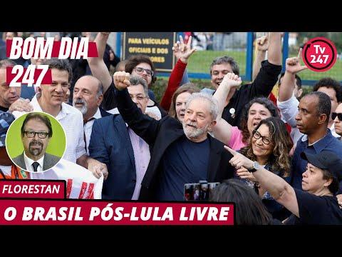 Bom dia 247, com Florestan (9.11.19): Como será o Brasil pós-Lula Livre