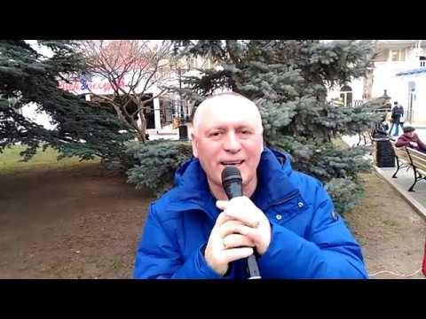 Танцы на Приморском бульваре Севастополь 23 02 20 День Защитника Отечества Певец Сергей Соков