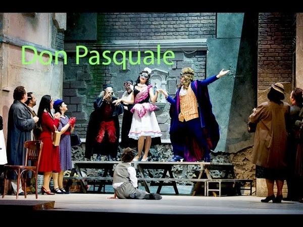 Noé Colín as Don Pasquale (G. Donizetti) Overture