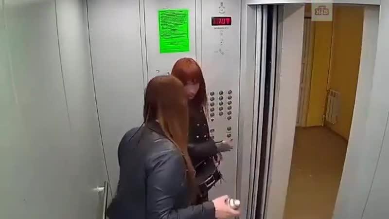 Работница суда и дознаватель разрисовали лифт из баллончика