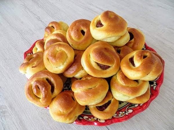 Приготовили 50 штук и все равно мало Бабушкины булочки самые вкусные