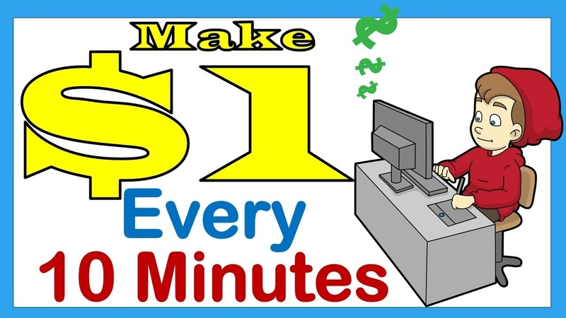 Make $10 A Day How To Make $10 Fast Earn $1 Every 10 Minutes
