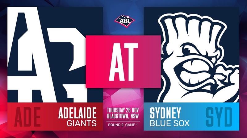 Adelaide Giants @ Sydney Blue Sox Round 2 Game 1