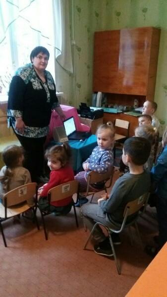 донецкая республиканская библиотека для детей, отдел внестационарного обслуживания детей, занятия с детьми, безопасность жизнедетельности