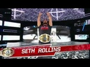 Seth Rollins Entrance W Loudest BURN IT DOWN EVER RAW After Mania April 9 2018 HD