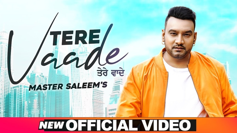 Tere Vaade Official Video Master Saleem Latest Punjabi Songs 2020 Speed Records