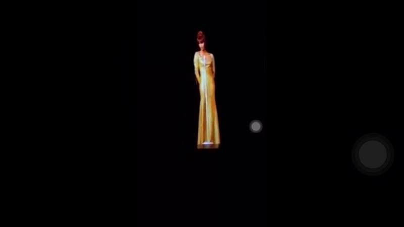 FULL Whitney Houston's hologram I Will Always Love You