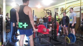 Атлет ТБ (Atlet TV)  змагання з жиму штанги лежачи