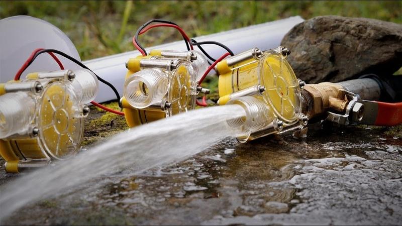 Free Energy from Stream Micro hydro turbines DIY