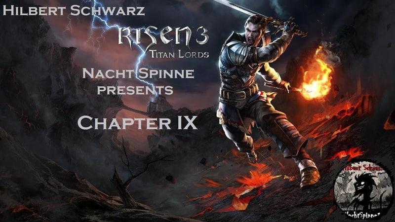 RISEN 3 TL - Часть 9 Повелитель Теней Безумия, Кила, Пещера с Пауками.