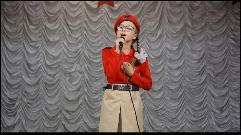 Мама жди Ксения Поваркова 75песенПобеды БиблиоНочь 2020 в Кондрово онлайн