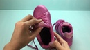 Обзор на светящиеся кроссовки GEOX для девочек