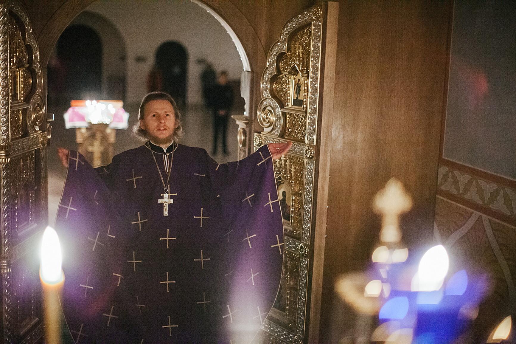 Настоятель обители впервые за историю монастыря совершил вечернюю Литургию Преждеосвященных Даров, изображение №6