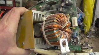 Постоянный клиент, сварочный инвертор P. I. T. PMI255-C1.  Снова на тех обслуживании.