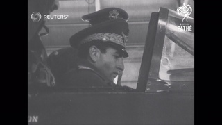 BRITAIN: FINAL DAYS OF THE SHAH'S VISIT: Visit to Biggin Hill (1955)