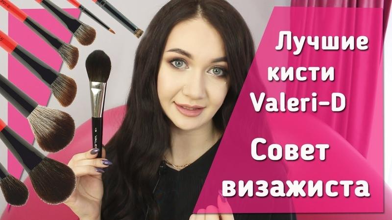 Лучшие кисти для макияжа в Valeri-D. Бюджетные профессиональные кисти
