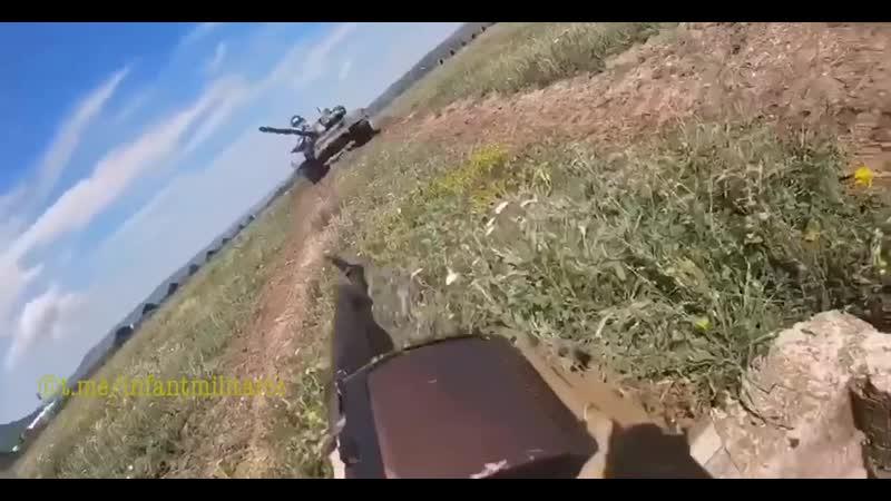 Обкатка танком Т 72Б3