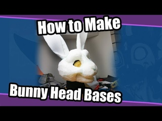 Head Base Tutorial 3// Bunny Foam Base For Fursuits Template/Pattern