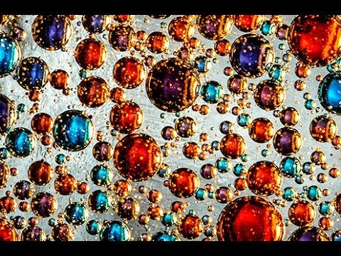 MACRO PHOTOGRAPHY TUTORIAL - Using Oil, Water Food Coloring Creatively