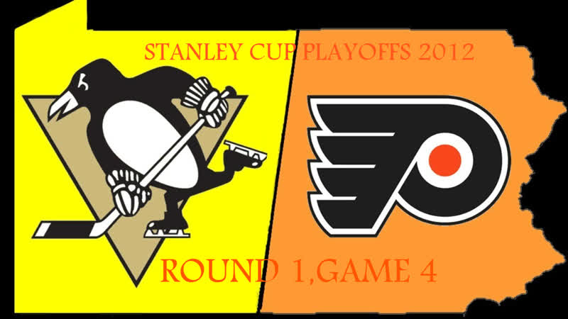 Stanley Cup Playoffs 2012 R1 Game 4 Pittsburgh Penguins Philadelphia Flyers