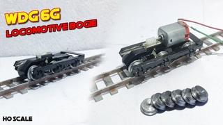 WDG 6G HO Scale Model Making | How To Make Metal Wheels For Train Model | Bogie WDG 6G
