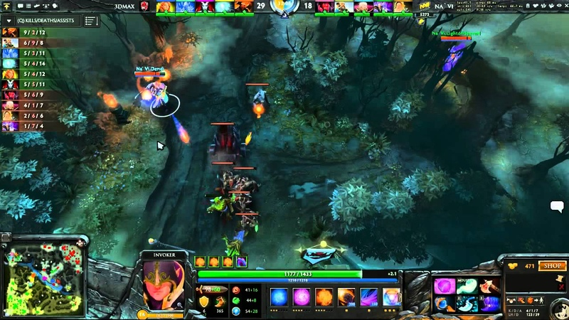 The Defence 3 Group D Tie breakers Na`Vi vs 3DMAX