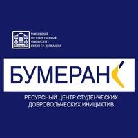 Логотип Ресурсный центр СДИ «БУМЕРАНГ» ТГУ им. Державина