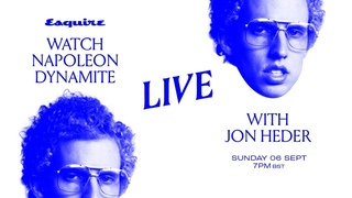 Join Esquire UK and Jon Heder for a live 'Napoleon Dynamite' watchalong