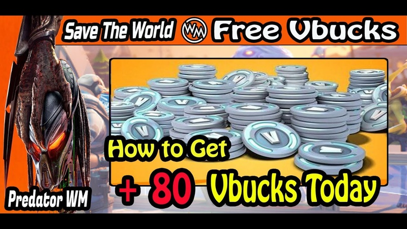How To Get 80 Vbucks in Fortnite Only Today