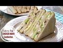 Chicken and Mayo Sandwich The Ultimate Bakery Style Sandwich
