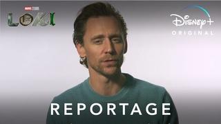 Loki - Reportage : Tom Hiddleston et la France   Disney+