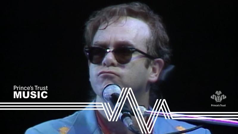 Elton John I'm Still Standing The Prince's Trust Rock Gala 1986