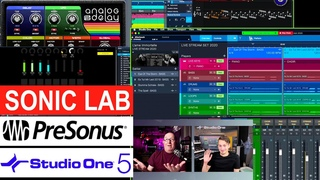 Presonus Studio One 5 Deeper Look at Show Page and More - Presentation