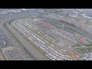Chopper Camera - Fontana - Round 03 - 2020 NASCAR Cup Series