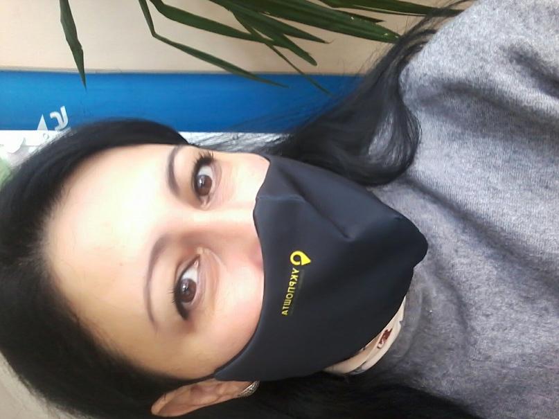 Друзья! сегодня нам раздали многоразовые маски с лого нашего предприятия!