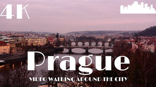 Prague (Praha)| Czech Republic 🇨🇿 Walking Europe in 4k Dji Osmo Pocket