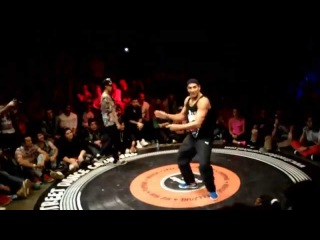 SALAH(FRANCE) vs Chrissy(TAIWAN) DANCE@LIVE WORLD CUP FREE STYLE BEST8 2015