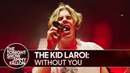 Выступление The Kid LAROI с треком «WITHOUT YOU» на шоу Джимми Фэллона