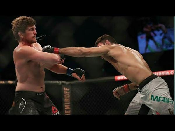 Ben Askren Vs Damian Maia. Full Fight Highlights. Askren choked out by Dami..