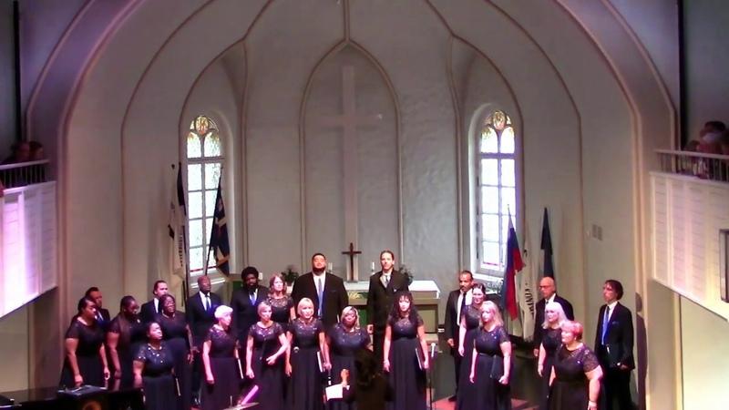 Joanna Medawar Nachef Singers sing Gospel and Spirituals in St Petersburg