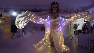 LIGHT SHOW BY CAMILA DANCE SHOW | СВЕТОДИОДНОЕ ШОУ | ЗАКАЗАТЬ ТАНЕЦ ЖИВОТА В СПБ